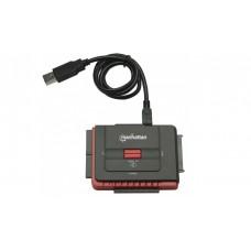 CONVERTIDOR HDD USB A IDE Y SATA 1.5 GBPS HASTA 5.25 grande
