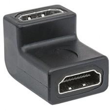 ADAPTADOR HDMI COPLE CODO ANGULO 90 GRADOS 4K HEMBRA-HEMBRA grande