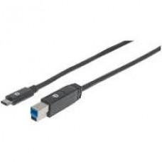 CABLE USB-C V3.1  C-A 2.0M NEG . grande