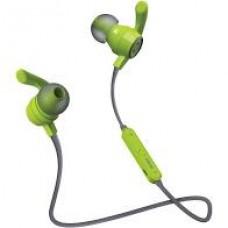 AUDIFONOS DEPORTIVOS IN-EAR CON MICROFONO (VERDE/GRIS) grande