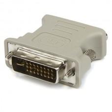 ADAPTADOR CONVERTIDOR DVI-I A VGA HD15 BLANCO                 . grande