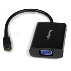 ADAPTADOR CONVERTIDOR MICRO HDMI A VGA CON AUDIO            . grande