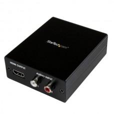 CONVERTIDOR ADAPTADOR VGA VIDEO COMPONENTES A HDMI AUDIO grande