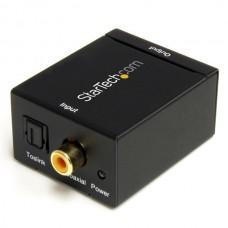 ADAPTADOR CONVERTIDOR AUDIO DIGITAL COAX SPDIF TOSLINK A RCA. grande