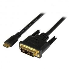 ADAPTADOR CABLE 2M MINI HDMI A DVI-D PARA TABLET Y CAMARA    . grande