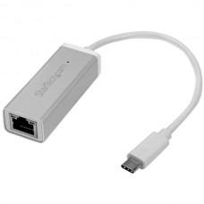 ADAPTADOR DE RED GIGABIT USB-C PLATEADO 5GBPS USB 3.0 grande