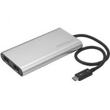 ADAPTADOR VIDEO THUNDERBOLT 3 A A DOBLE HDMI 4K60 MAC Y WIN grande