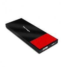 POWER BANK VORAGO PB-200 3800 M AH 1 USB  NEGRO/ROJO grande