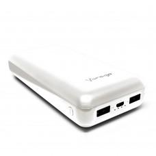 VORAGO POWER BANK PB-550 20 000 MAH 2 PUERTOS USB 1.0A 2.1 BLANCO grande
