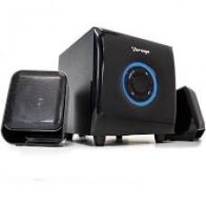 BOCINAS VORAGO SPK-300 2.1 CAN NALES NEGRA USB/LECTOR MICRO SD/ grande